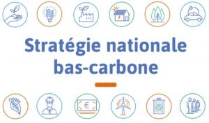 Logo de la stratégie nationale bas-carbone