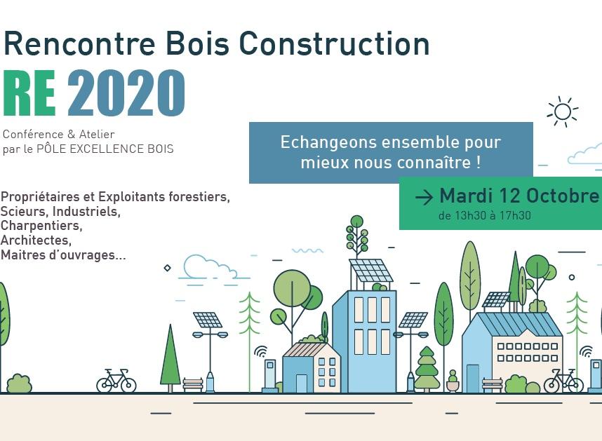 Rencontre Bois Construction RE2020