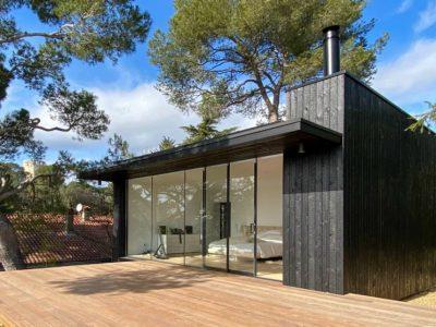 Extension maison - poutre en i